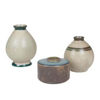 Three Ceramic Vases by Francis Jourdain, circa 1930