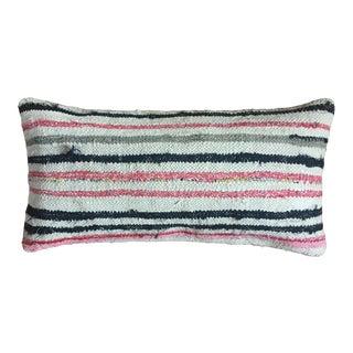 Striped Moroccan Kilim Pillow Cover