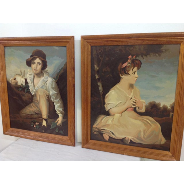 Paint by Numbers Age of Innocence - A Pair - Image 5 of 8