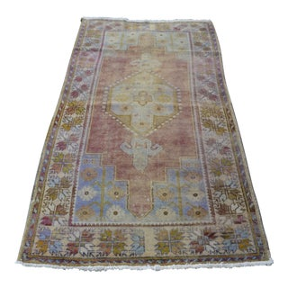 "Oushak Handmade Floor Carpet - 43"" x 79"""