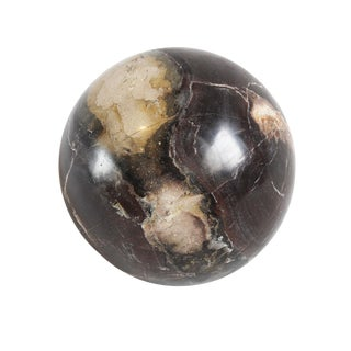 Polished Petrified Wood Sphere