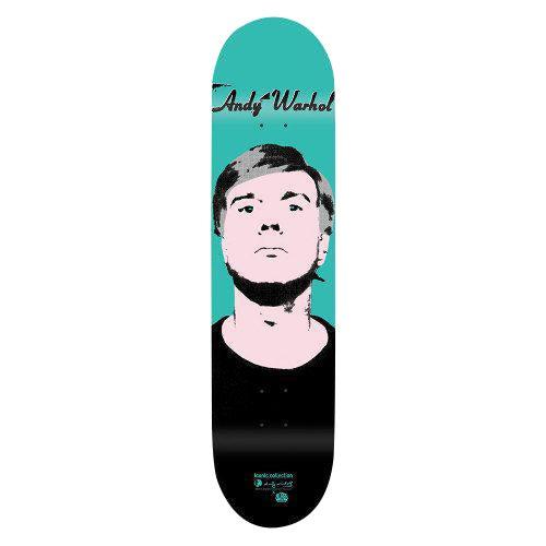 Image of Andy Warhol Skateboard Deck