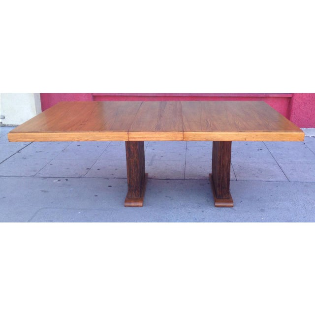 Paul Frankl Dining Table with Original Finish - Image 4 of 7