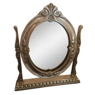 Vintage Table Dressing Mirror