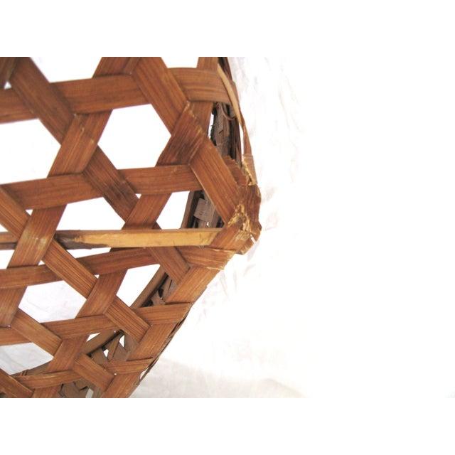 Large Round Asian Basket - Image 6 of 7