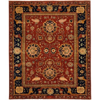 "Ziegler, Hand Knotted Area Rug - 8' 10"" x 10' 8"""