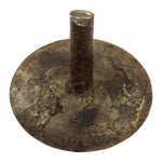 Image of WWI Solid Iron Nail Head Art Ring Holder