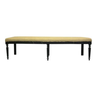 Two Exquisite Large French Modern Neoclassical Benches
