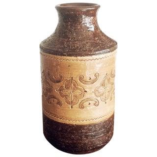 Aldo Londi Ceramic Bitossi Vase