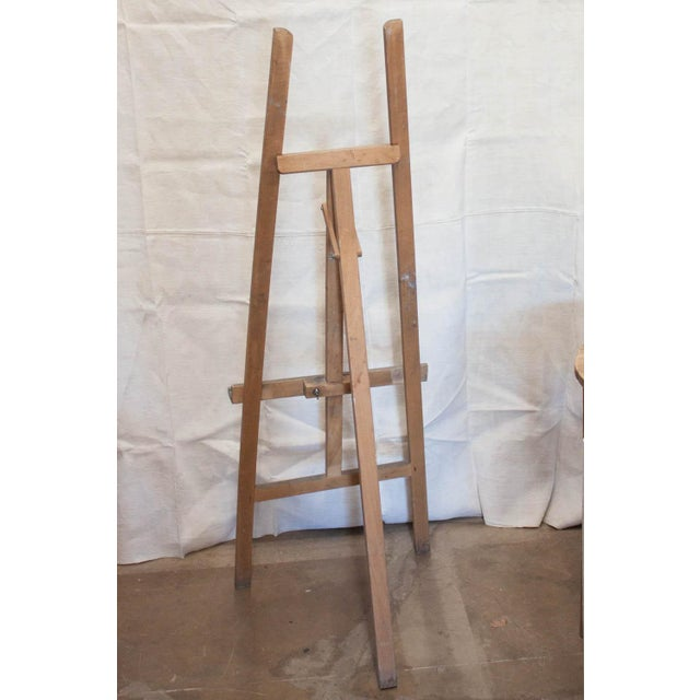 Vintage French Adjustable Painter's Easel - Image 5 of 7
