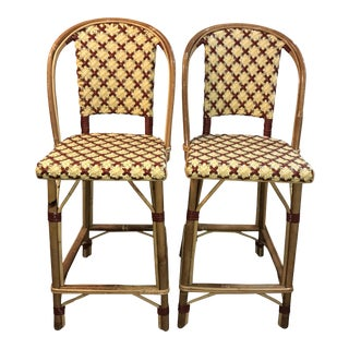 Maison Drucker French Bistro Bar Stools - A Pair
