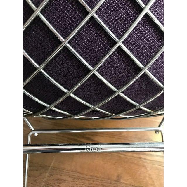 Bertoia Knoll Mid-Century Modern Chrome Diamond Chair - Image 5 of 9