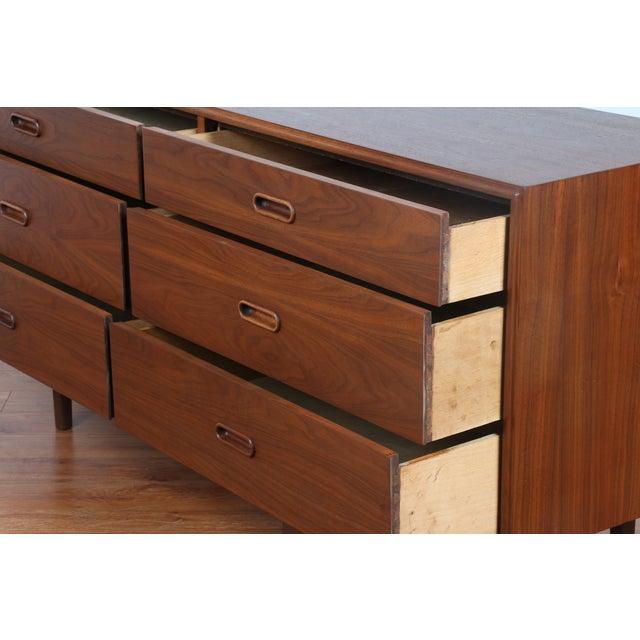 Image of Mid-Century Walnut Dresser