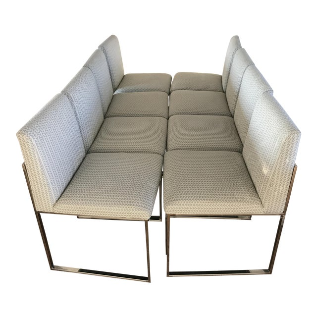Palacek atlantic dining chairs set of 8 chairish - Atlantic shopping dining chairs ...