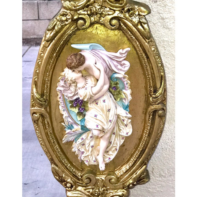 Antique Italian Baroque Gold Gilded Mirror - Image 7 of 11