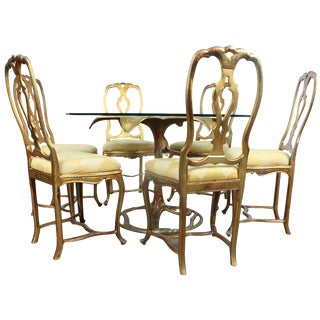 Arthur Court Gilded Lily Dining Set - Set of 7