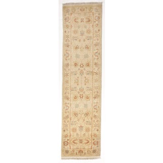 """Chinese Hand-Knotted Runner- 2'8"""" X 10'"""