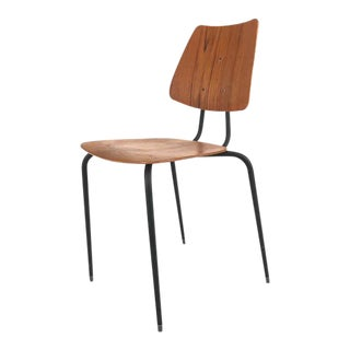 Vintage Danish Teak Side Chair