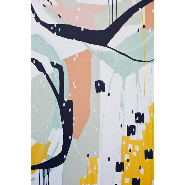 "Beth Winterburn Original Abstract - ""Sherbet Summer"" - Image 6 of 6"