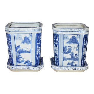 Chinese Planters - A Pair