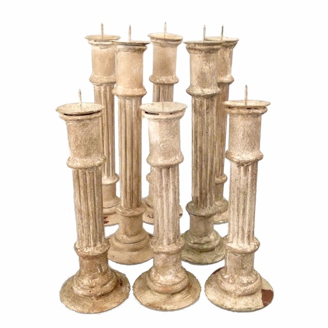 Classical Column Candlesticks - Set of 8 - Image 2 of 7