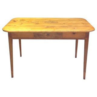 Antique French Pine Table