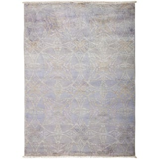 "Vibrance Hand Knotted Area Rug - 5'1"" X 7'"