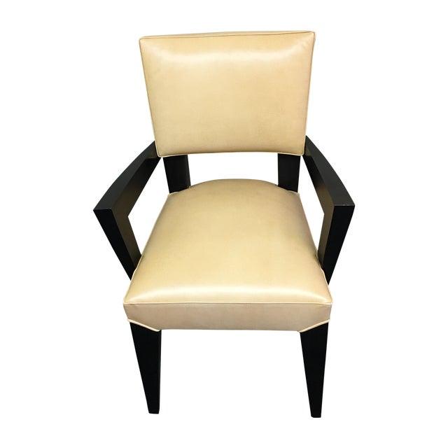 Dakota Jackson Ocean Leather Chair - Image 1 of 10