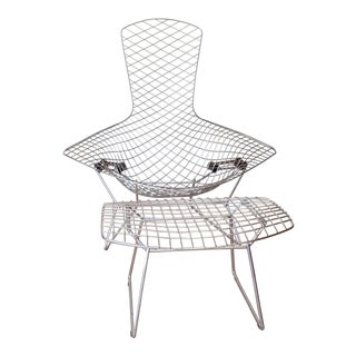 Harry Bertoia Bird Chair & Ottoman