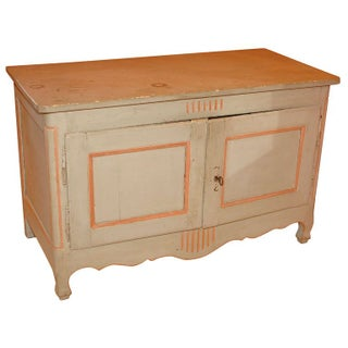 Louis XVI Style Rustic Farmhouse Buffet