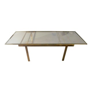 Vintage Brass Dining Room Table