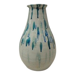 Vintage Mid-Century Modern Blue Vase