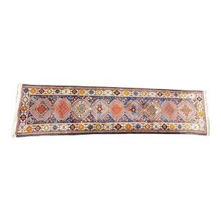 "Vintage Persian Yalameh Runner Rug - 2'7"" X 10'5"""