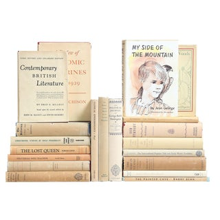 Matte Dustjacket Selections - Set of 20