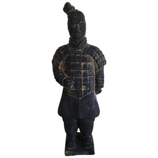 Asian Samurai Warrior Statue