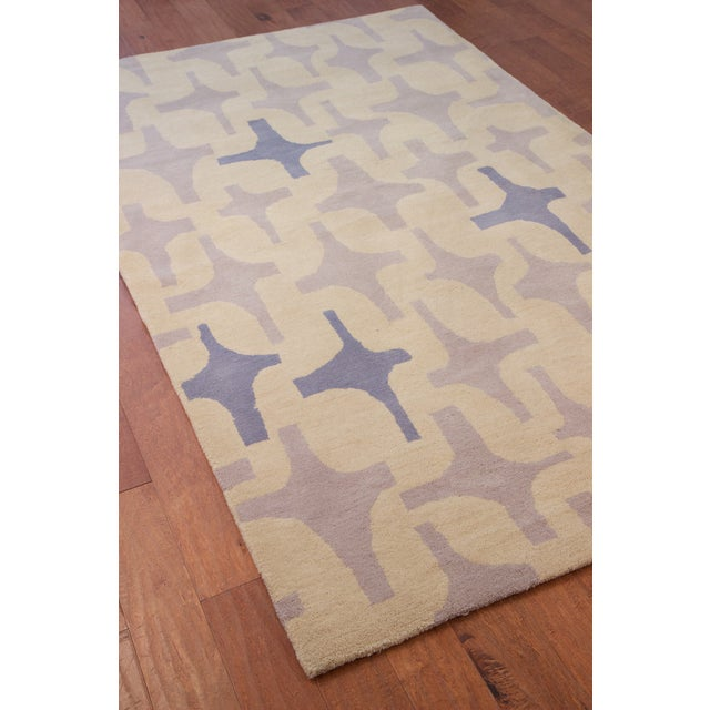"Lotta Jansdotter Slate ""Decorativa"" Rug - 8' x 11' - Image 2 of 7"