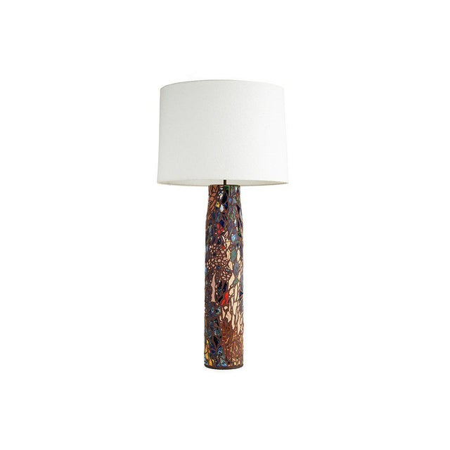 Image of Mosaic Tile Lamp