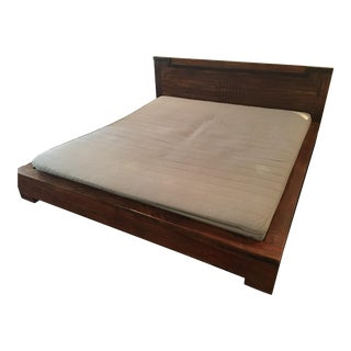 Asian Style Platform Bed