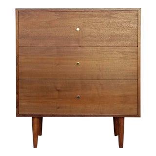 American Walnut 3 Drawer Dresser