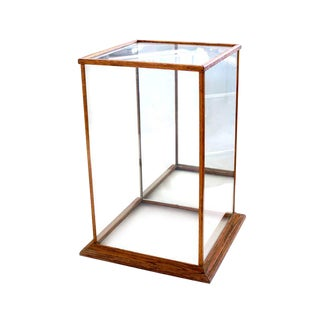 Vintage Mirrored Display Case