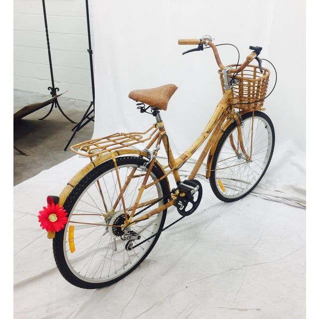 Vintage Bamboo Bicycle - Full Size - Image 6 of 11