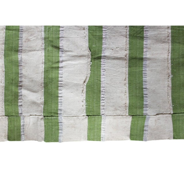 Vintage Striped African Textile - Image 3 of 4
