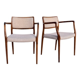 Neils Moller Dining Armchairs - A Pair