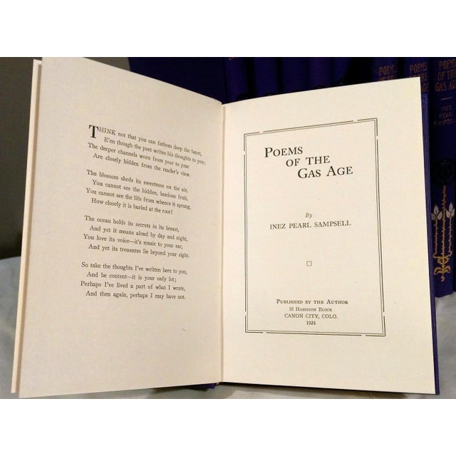 "Image of 1924 ""Poems Of The Gas Age"" by Ines Pearl Sampsell"
