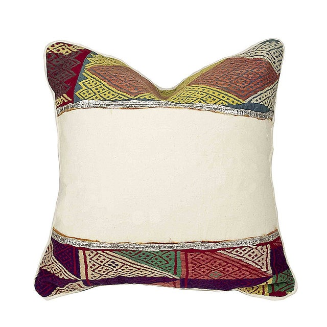 Rana Tribal Lace Pillow - Image 1 of 4