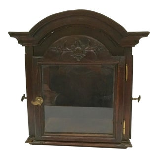 Antique Grandfather Clock Crown