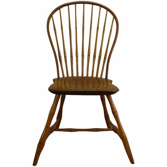 18th Century Ebenezer Tracy Windsor Chair - Image 1 of 8