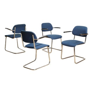 Gispen Style Dining Chairs - Set of 4