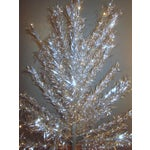 Image of Aluminum Christmas Tree With Box Sleeves - 4'