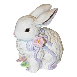 Enesco Bunny Rabbit Music Box